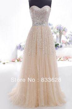 Envío gratis para mujer de moda de Organza piso longitud Prom Party nueva llegada vestido de noche largo 2014 en Vestidos de Noche de Bodas y Eventos en AliExpress.com | Alibaba Group