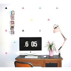 Stickers géométriques pastel Pôm dans la boutique http://mespetitscreateurs.com!