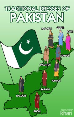 Artistic Maps of Pakistan and India Show Embroidery Techniques of Each Region Pakistan Independence Day, Independence Day Images, Happy Independence, History Of Pakistan, Pakistan Zindabad, Pakistan Pictures, Pakistani Culture, India Map, India India