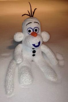 Olaf sock monkey! all I can say is...wow...