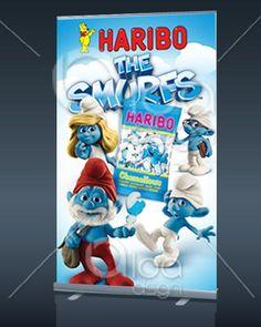 Banner desenvolvido para a cliente Aurora para a marca Haribo