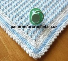 Looking for your next project? You're going to love pfc50-Crib Blanket baby crochet pattern by designer justcrochet.