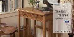 Solid Wood Furniture & American Made Furniture Space Saving Furniture, Furniture Making, Desks For Small Spaces, Catalog Shopping, Solid Wood Furniture, Quality Furniture, American Made, Manchester, Table