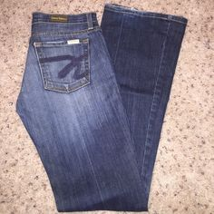 David Kahn jeans My favorite jeans in the whole world. Haven't been able to wear them in a long time, perfect condition. Love the color and fit David Kahn Jeans Boot Cut