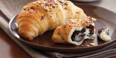 Milföy Hamurundan Çikolatalı Kruvasan Tarifi