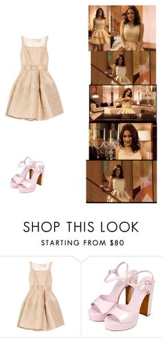 """""""violetta habla"""" by maria-look ❤ liked on Polyvore featuring Lanvin, Topshop, women's clothing, women, female, woman, misses and juniors"""