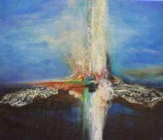 Kunstsamlingen | Artist: Vivi Amelung | Title: Another world #kunstsamlingen #kunst #artcollection #art #painting #maleri #galleri #gallery #onlinegallery #onlinegalleri #kunstner #artist #danishartists #viviamelung
