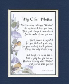 Gifts for Mom Gifts for Mothers Mothers Day gifts Christmas gifts for Mom Mom Poems Mother Poems