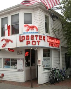 Ptown seafood restaurant icon. Yum!
