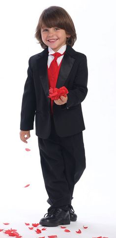 We all know kids are cute! But there cuter in a tuxedo! Think about putting some little guys in your bridal party! At the Brighton Tux Shop we carry sizes for 3 year olds and up!