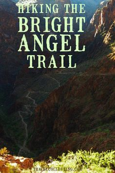Guide to the Bright Angel Trail, the best of Grand Canyon hiking. Description of what to expect when hiking the Bright Angel Trail down to Phantom Ranch at the bottom of Grand Canyon, plus practical tips for booking, getting there, and getting around. Grand Canyon Hiking, Grand Canyon Vacation, Grand Canyon Village, Grand Canyon South Rim, Hiking Tips, Camping And Hiking, Camping Cabins, Hiking Gear, Bright Angel Trail