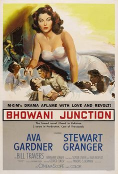 Bhowani Junction - Ava Gardner Stewart Granger Edward Chapman Bill Travers