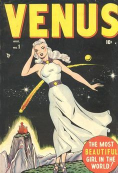 The most beautiful girl in the Marvel Universe! From her namesake planet she came to Earth, calling herself Victoria Starr and claiming to be a fashion magazine writer.