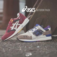 The new Asics Outdoor Pack