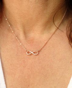 Gold Infinity Necklace : stylish gift ideas for the girls ...