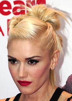 Gwen Stefani makeup. Not airbrushed!