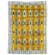 Swedish Rya Rug   From a unique collection of antique and modern russian and scandinavian rugs at https://www.1stdibs.com/furniture/rugs-carpets/russian-scandinavian-rugs/