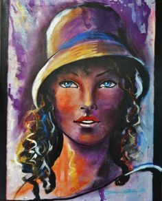 Peintures de femmes contemporaines