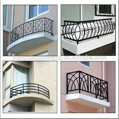 Modern Balcony Grill Designs For Iron, Wrought Iron