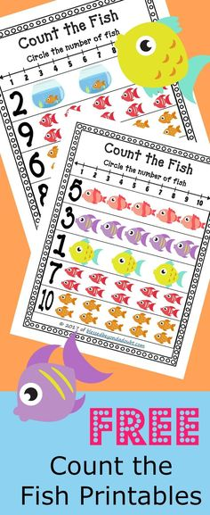 Free math station printables for PreK and K. These are perfect for centers or a homeschool setting.