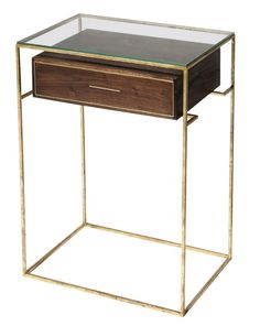 Tamara Codor - Floating Drawer Side Table  http://goodsie.com/store/o-b-j-e-c-t/tamara-codor-floating-drawer-side-table