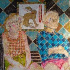 Original Portrait Painting by Szabina Gore Original Art, Original Paintings, Surrealism, Buy Art, Saatchi Art, Weird, Canvas Art, Art Deco, Fine Art