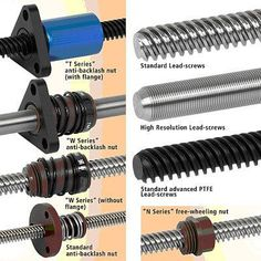 Mechanical Engineering: Lead Screw and Nut Assemblies