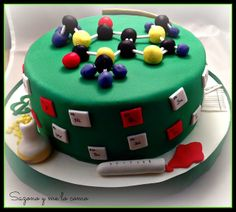 Tarta Profesora de Química- Teacher Cake, Quimica Cake Sazono y me lo como