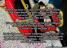 One Piece Headcanons: Mihawk