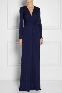Issa|Silk-jersey gown|NET-A-PORTER.COM $880