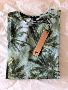 I would literally sell my soul for this ksubi resort palm tree shirt