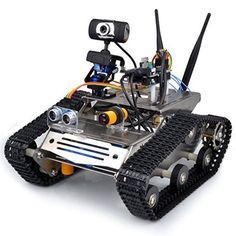 Wireless Wifi Robot Kit / Hd Camera