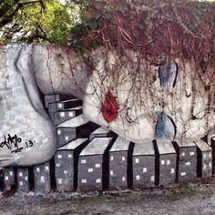 Artist :Grazie #streetart