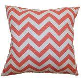 Found it at Wayfair - Xayabury Zigzag Cotton Pillow
