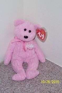 BABY GIRL  Ty Beanie Baby MINT WITH MINT TAGS