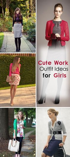 Cute Work Outfit Ideas for Girls!