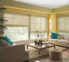 Blinds are a super-cozy & easier-to-maintain alternative to curtains. And what's more, they look so gorgeous that you'll just love to sit & admire the room all day! And the variety that is available will have you blown away. We prefer the woven, cloth ones though but you can pick n choose from cloth, wood, bamboo or even metal.  Visit & like us on https://www.facebook.com/TheKrrishGroup to Interact with us.