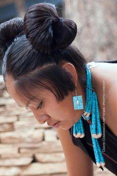 """intothewildfire: """" Hopi Maiden """"                                                                                                                                                                                 Más"""