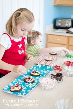 Holiday Baking with Children - How to Keep It Fun Without Destroying Your Kitchen *Great post for parents!