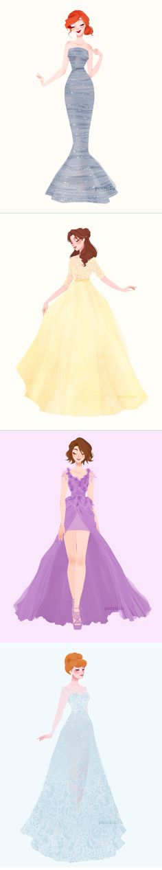 I typically don't post this kind of stuff but this was the first one that actually looked and felt like the princesses