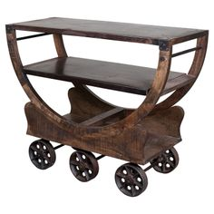 Rosman Bar Cart – Serving your booze the old fashioned way since 1867.