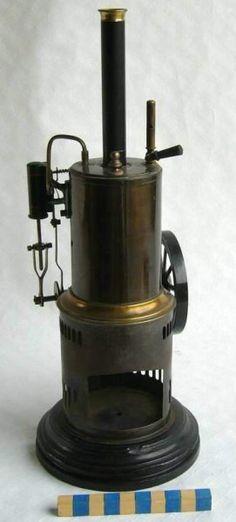 steam engine Schoenner Vertical 1930s