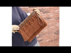 Goods And Services, Reusable Tote Bags, Youtube, Knitting, Craft, Projects, Tela, Weaving, Crochet Pouch