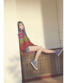 Photo album containing 186 pictures of IU Iu Fashion, Korean Fashion, Iu Chat Shire, Iu Twitter, Asian Babies, Foto Pose, Korean Beauty, Ulzzang Girl, Korean Singer