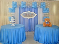 Baby Shower Decorations For Boys, Boy Baby Shower Themes, Baby Shower Balloons, Baby Shower Gender Reveal, Birthday Balloons, Baby Shower Parties, Baby Boy Shower, Balloon Decorations, Birthday Decorations