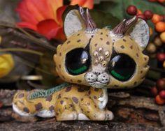 Littlest Pet Shop baby Jaguar Dragon Forest Spirit OOAK custom figure LPS chibi #Hasbro