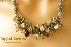 Rippled Tortoise Necklace Kit - Sally Bead Jewelry