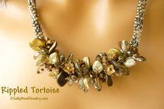 Rippled Tortoise Necklace Kit - Sally Bead Jewelry