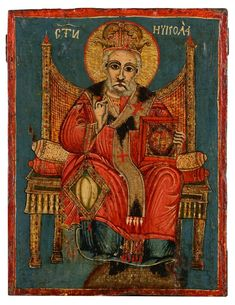 Buy online, view images and see past prices for SAINT NICHOLAS. Invaluable is the world's largest marketplace for art, antiques, and collectibles. Early Christian, Saint Nicholas, Santa Clause, Patron Saints, Tempera, Roman Empire, Art Auction, Historian, 19th Century