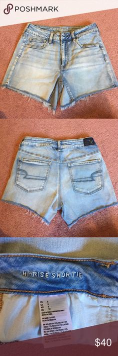 - REDUCED PRICE - American Eagle Shorts worn once Size 8 American Eagle Outfitters Shorts Jean Shorts